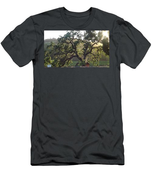 Men's T-Shirt (Slim Fit) featuring the photograph Cali Setting by Shawn Marlow