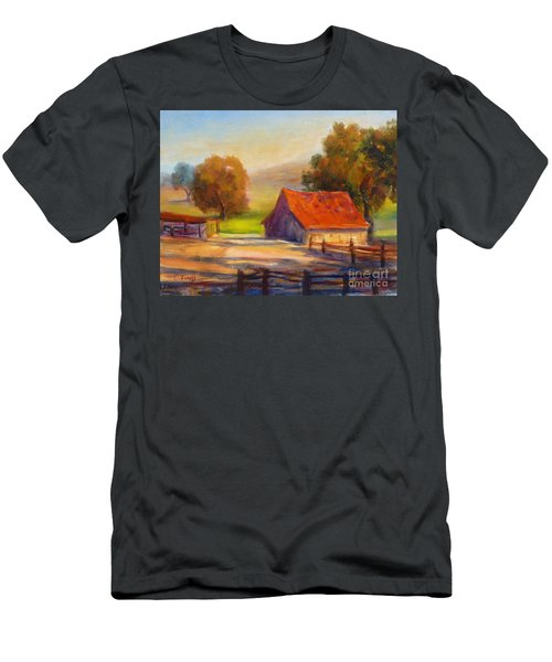 California Barn Men's T-Shirt (Athletic Fit)