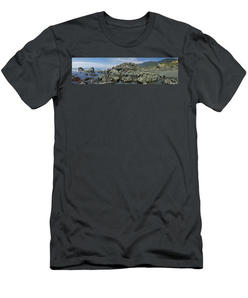 California Beach 2 Men's T-Shirt (Athletic Fit)
