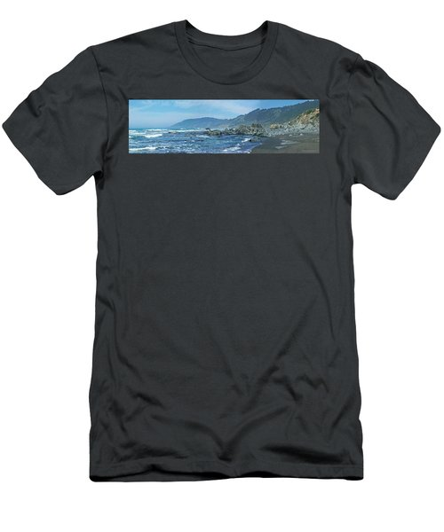 California Beaches 3 Men's T-Shirt (Athletic Fit)