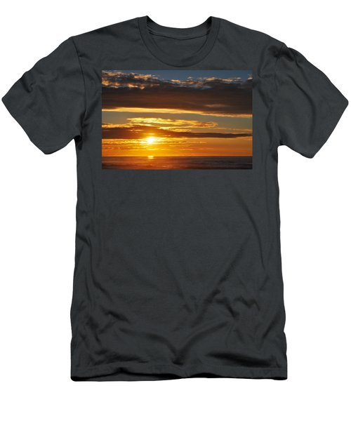 Men's T-Shirt (Slim Fit) featuring the photograph California Central Coast Sunset by Kyle Hanson