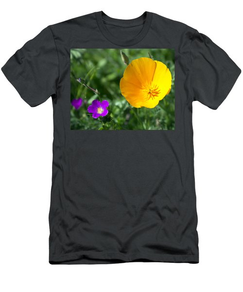 California Poppy Men's T-Shirt (Athletic Fit)