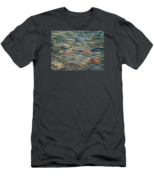 Men's T-Shirt (Slim Fit) featuring the photograph Calming Waters by Susan  Dimitrakopoulos