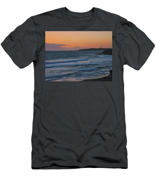 Men's T-Shirt (Slim Fit) featuring the photograph Cambria by Angela J Wright
