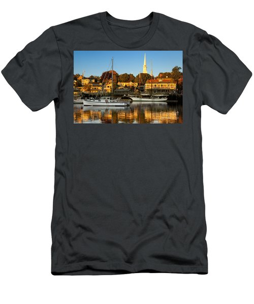 Men's T-Shirt (Athletic Fit) featuring the photograph Camden Maine by Brian Jannsen