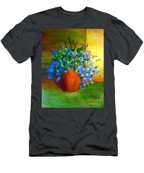Campanula In Terra Cotta Men's T-Shirt (Athletic Fit)