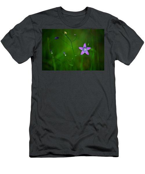 Campanula Patula Men's T-Shirt (Athletic Fit)