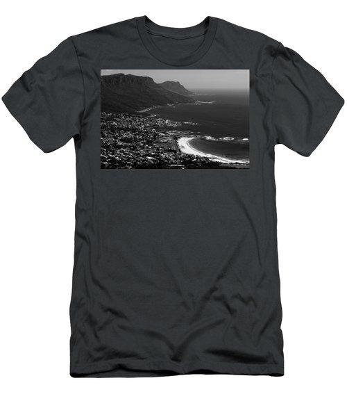Camps Bay Cape Town Men's T-Shirt (Slim Fit) by Aidan Moran