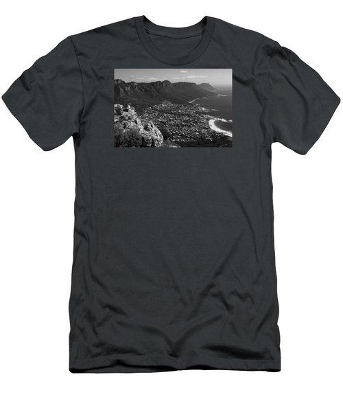 Camps Bay View Cape Town Men's T-Shirt (Athletic Fit)
