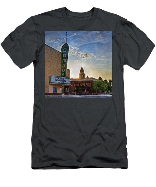 Campus At Sunrise Men's T-Shirt (Athletic Fit)