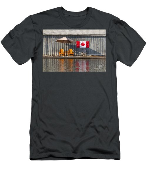 Canada Day In Muskoka Men's T-Shirt (Athletic Fit)