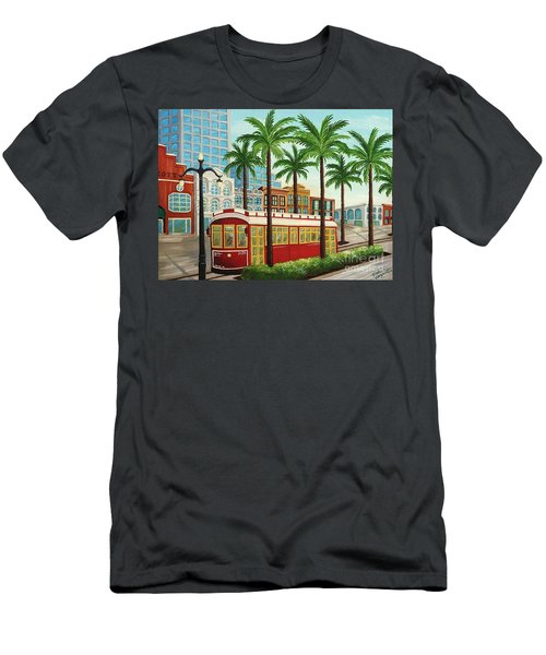 Canal Street Car Line I I Men's T-Shirt (Athletic Fit)