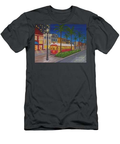 Canal Street Car Line Men's T-Shirt (Athletic Fit)