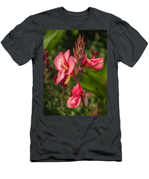 Canna Lily Men's T-Shirt (Athletic Fit)