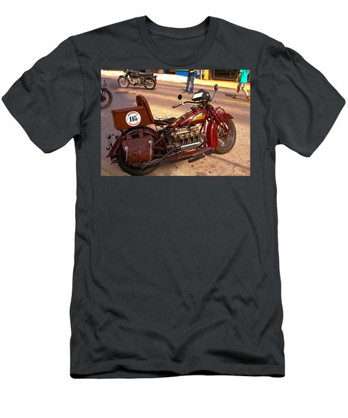 Cannonball Indian #115 Men's T-Shirt (Athletic Fit)