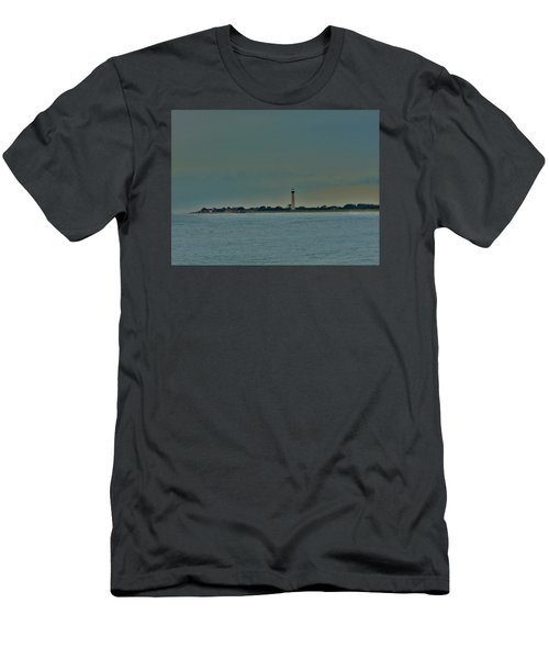 Men's T-Shirt (Slim Fit) featuring the photograph Cape May Point by Ed Sweeney