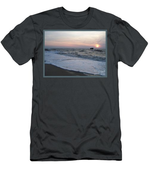 Cape May Sunset Beach Nj Men's T-Shirt (Athletic Fit)