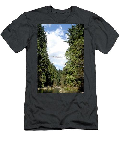 Capilano Suspension Bridge, North Men's T-Shirt (Athletic Fit)