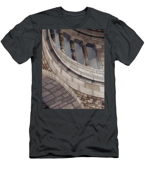 Capitol Curves Men's T-Shirt (Slim Fit) by Art Whitton