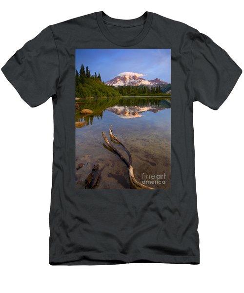 Capped Sunrise Men's T-Shirt (Athletic Fit)