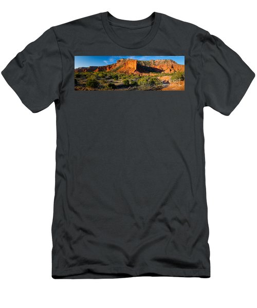 Caprock Canyons Panorama Men's T-Shirt (Athletic Fit)
