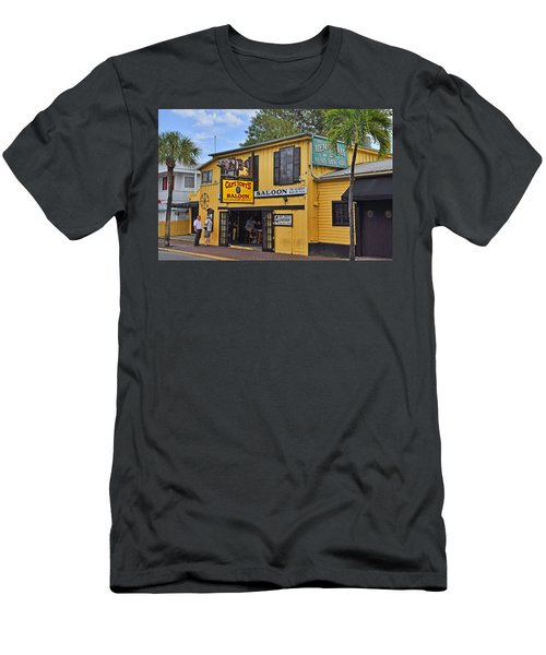 Captain Tony's Saloon Men's T-Shirt (Athletic Fit)