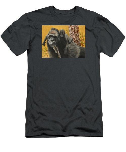 Captured Bernigie Men's T-Shirt (Slim Fit) by Jeanne Fischer