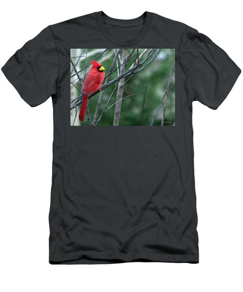 Cardinal West Men's T-Shirt (Slim Fit) by Jeff Kolker
