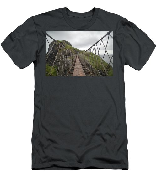 Carrick-a-rede Rope Bridge Ireland Men's T-Shirt (Athletic Fit)