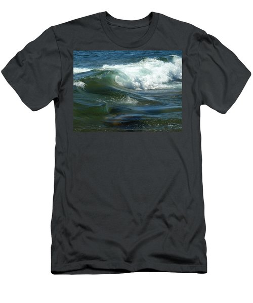 Cascade Wave Men's T-Shirt (Athletic Fit)