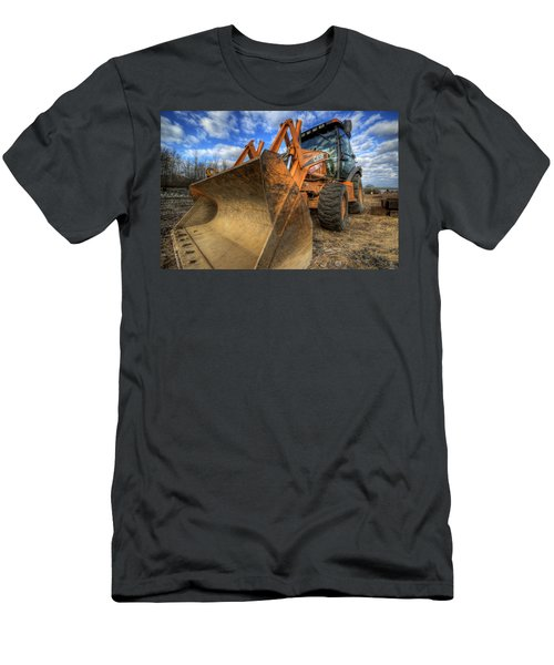 Case Backhoe Men's T-Shirt (Athletic Fit)
