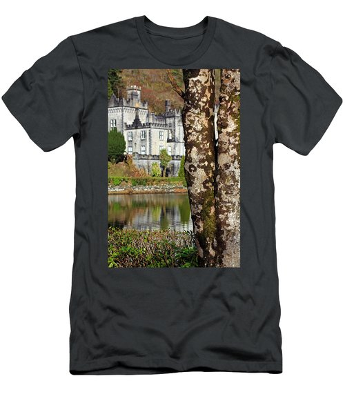Castle Behind The Trees Men's T-Shirt (Athletic Fit)