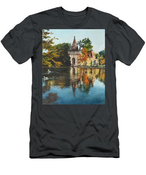 Castle On The Water Men's T-Shirt (Athletic Fit)