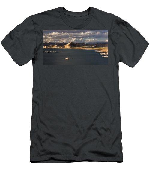 Castle Rock Sunset Men's T-Shirt (Athletic Fit)