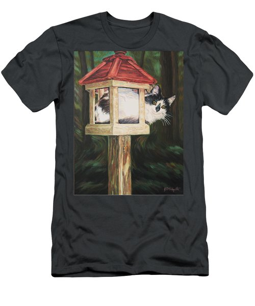 Cat House Men's T-Shirt (Athletic Fit)