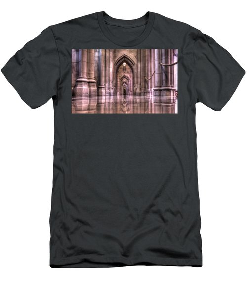 Cathedral Reflections Men's T-Shirt (Athletic Fit)