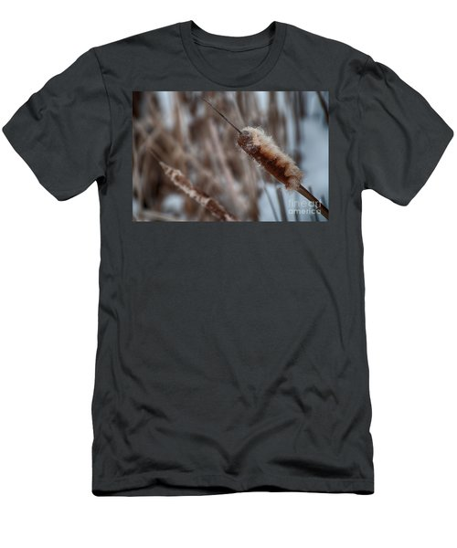 Men's T-Shirt (Slim Fit) featuring the photograph Cattails by Bianca Nadeau