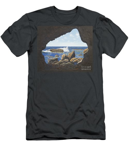 Cave View Men's T-Shirt (Athletic Fit)