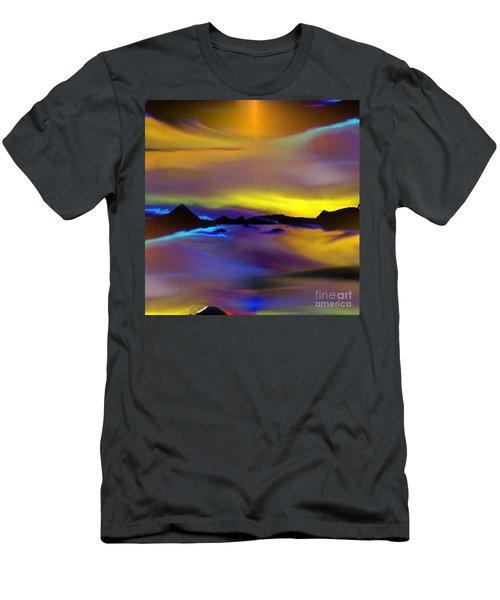 Cebu Sunset Men's T-Shirt (Slim Fit) by Yul Olaivar
