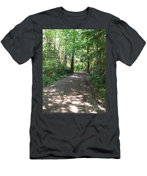 Cedar Shadow Steps Men's T-Shirt (Athletic Fit)