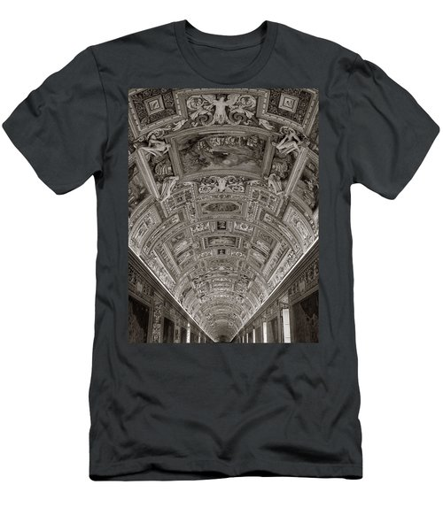 Ceiling Of Hall Of Maps Men's T-Shirt (Athletic Fit)
