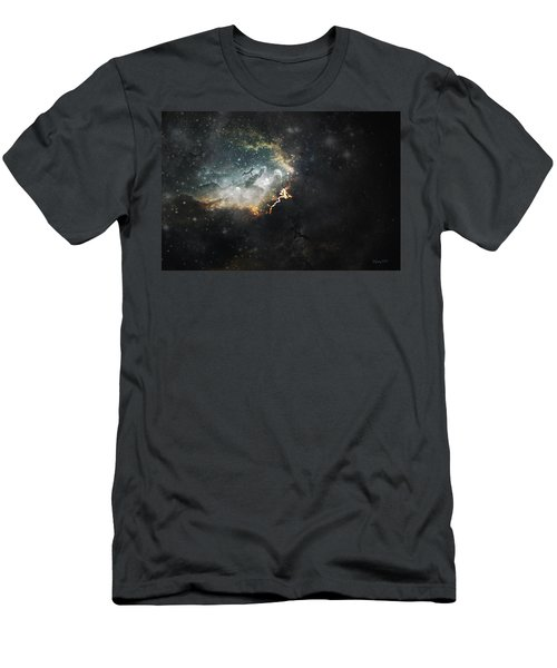 Men's T-Shirt (Slim Fit) featuring the photograph Celestial by Cynthia Lassiter