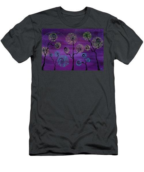 Celestial Garden Men's T-Shirt (Athletic Fit)