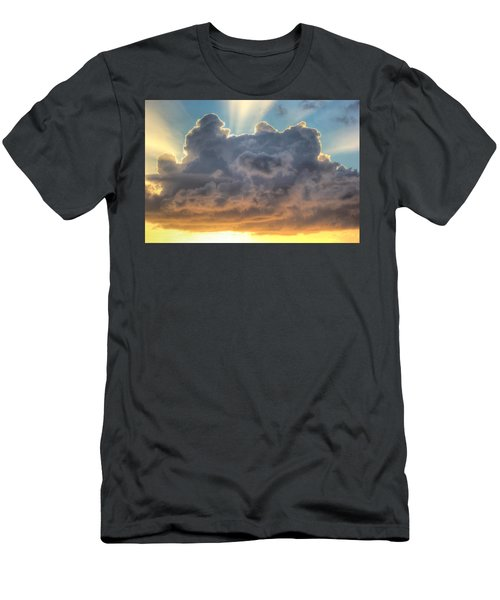 Celestial Rays Men's T-Shirt (Athletic Fit)
