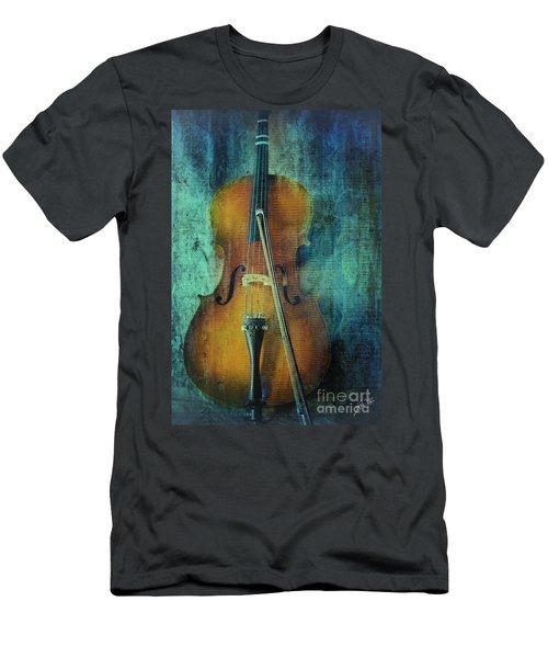 Cello  Men's T-Shirt (Slim Fit) by Erika Weber