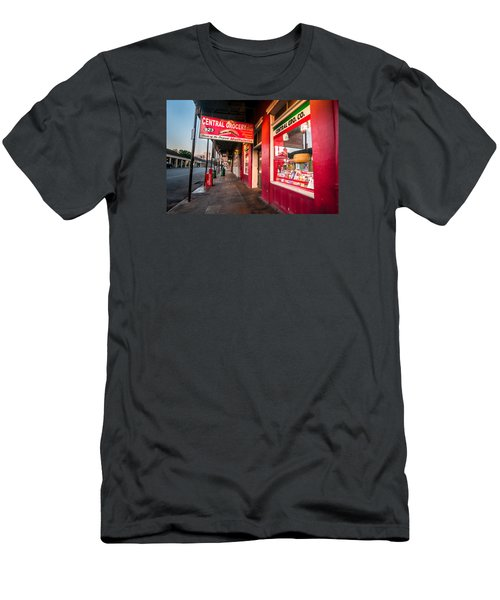 Central Grocery And Deli In New Orleans Men's T-Shirt (Athletic Fit)
