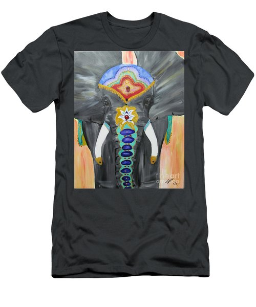 Chakra Elephant Men's T-Shirt (Athletic Fit)