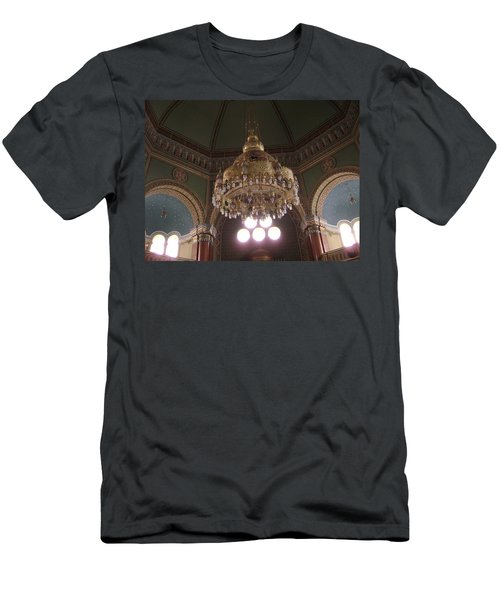 Chandelier Of Sofia Synagogue Men's T-Shirt (Athletic Fit)