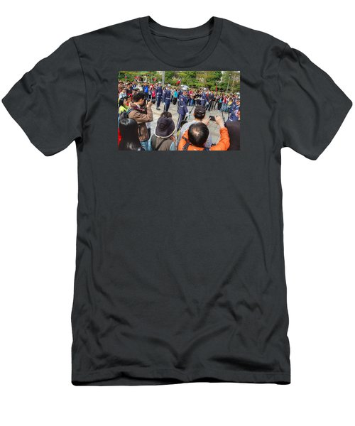 Changing Of The Guard Men's T-Shirt (Athletic Fit)
