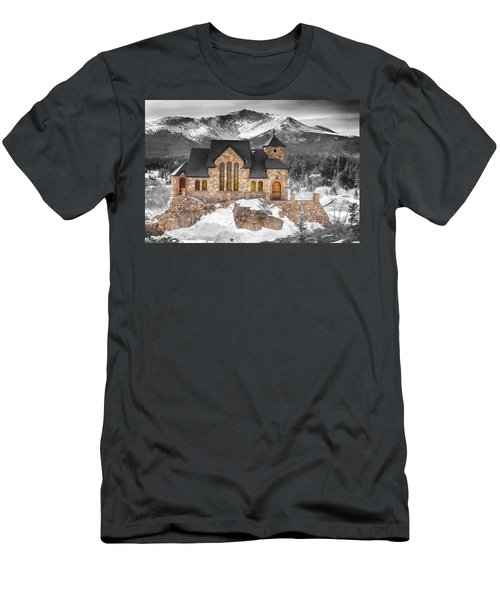 Chapel On The Rock Bwsc Men's T-Shirt (Athletic Fit)